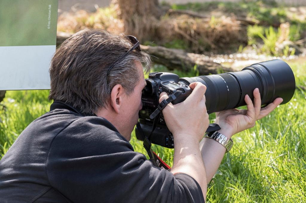 Mein Mann der Fotograf